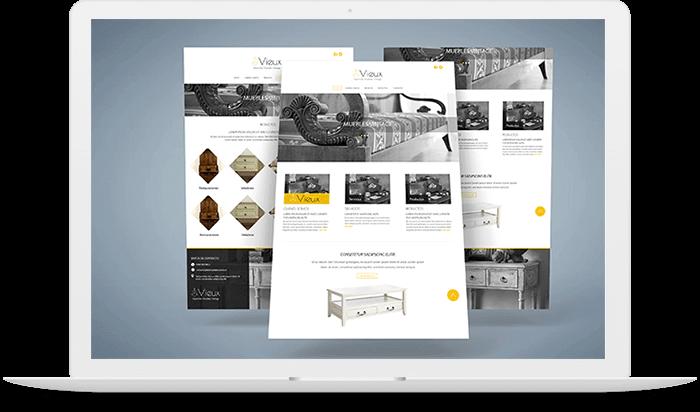 Diseño web de carro de compras